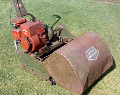 Replacing Your Engine On A Scott Bonnar Reel Mower