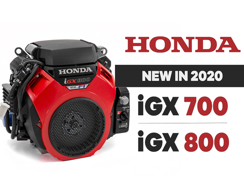 The new Honda EFI V-Twin Range is now available