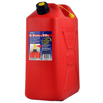 Plastic 20 Litre Fuel Can - Includes Pourer Spout