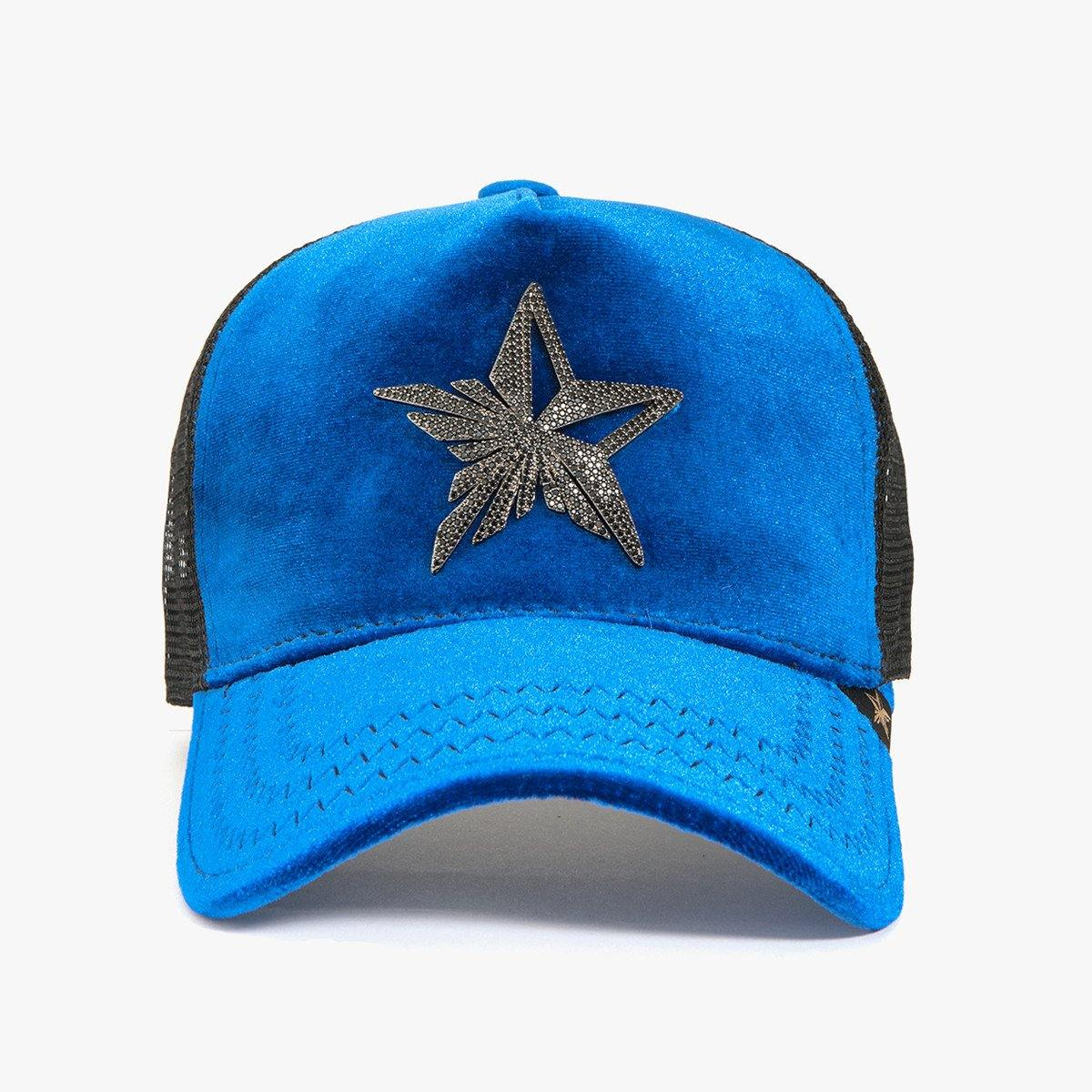 Rhinestone Star Blue/Black