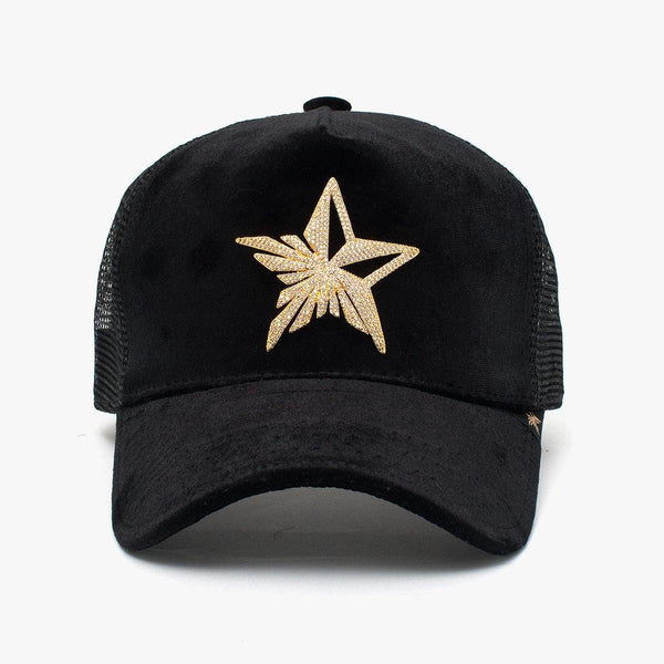 Rhinestone Star Black