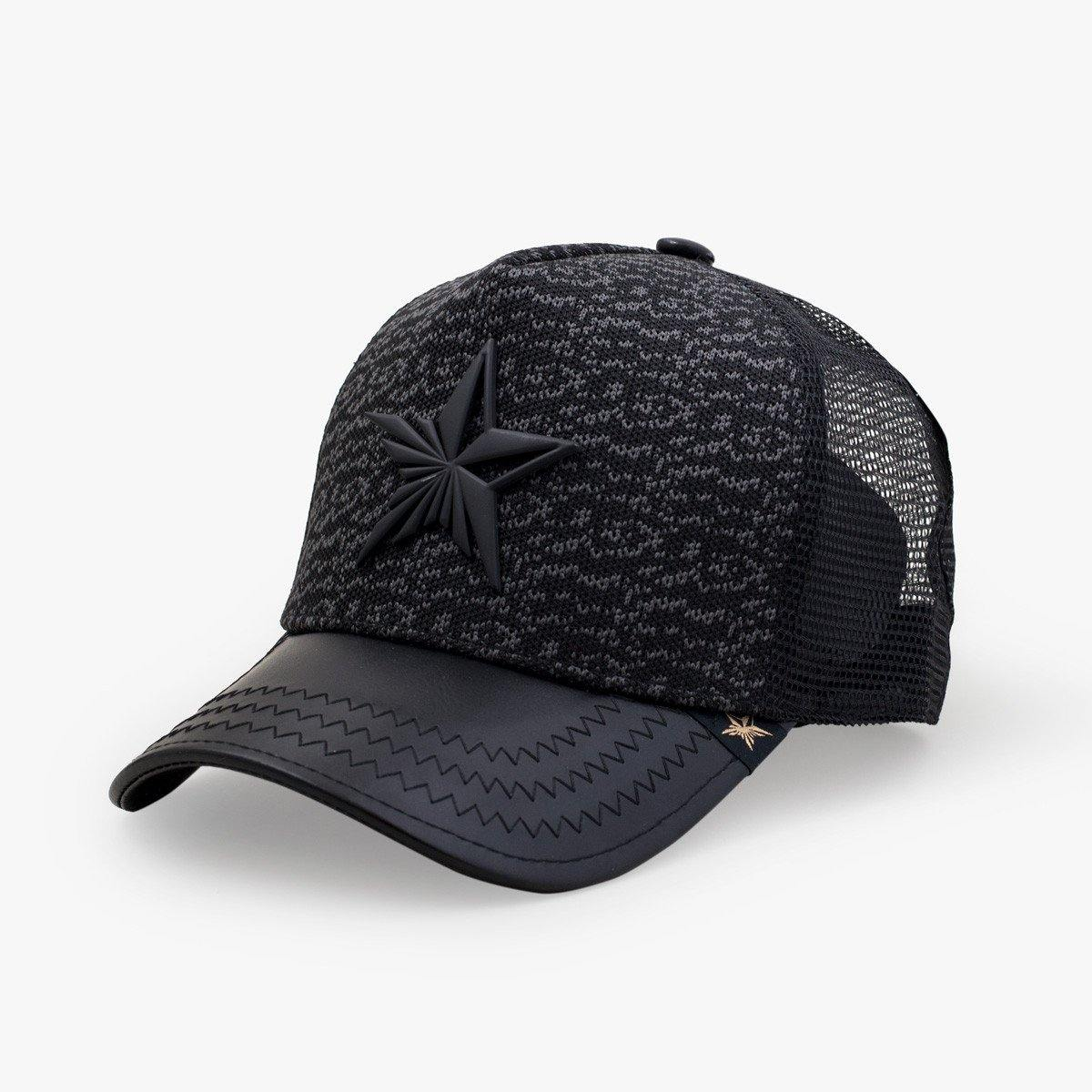 New Yeezy Black Trucker Hat