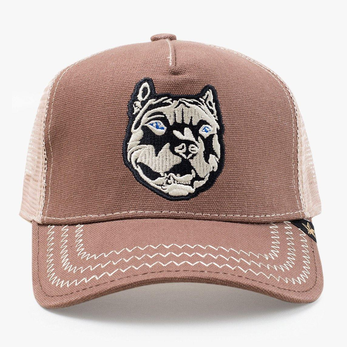 Pit  Brown Trucker Hat