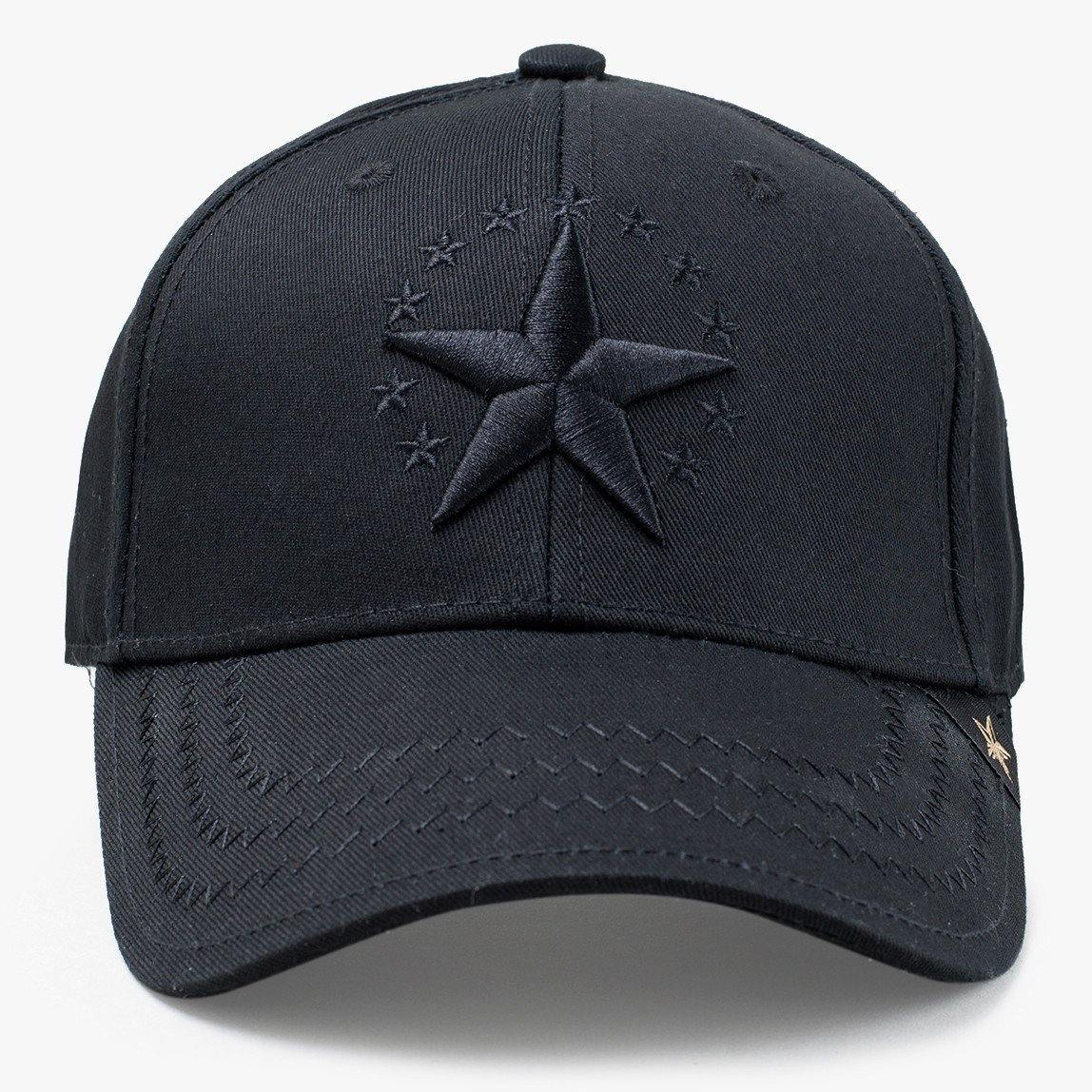 Star Allblack Baseball Hat