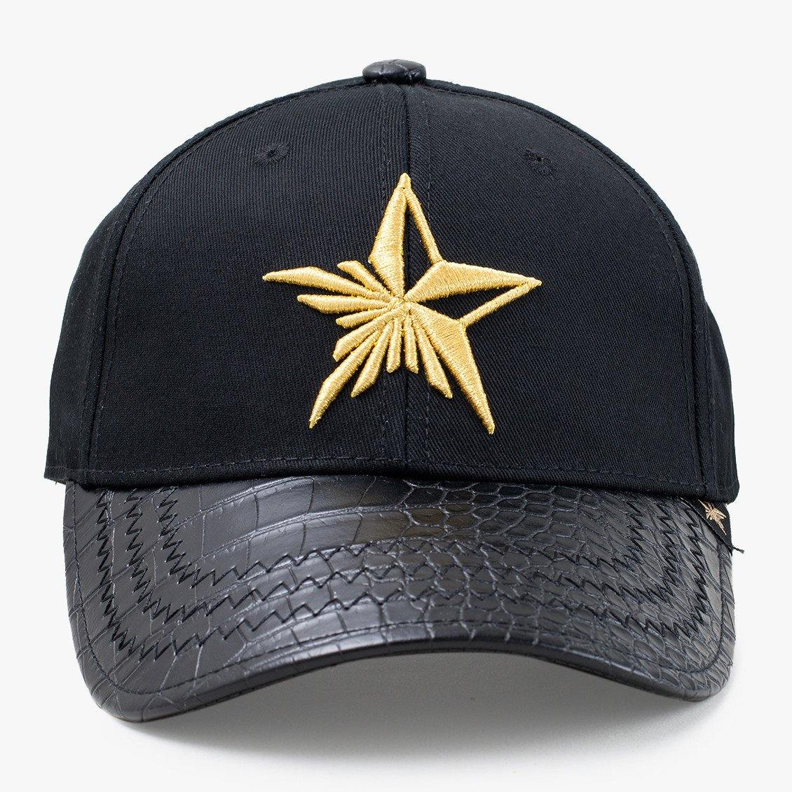 Star Gold Baseball Hat