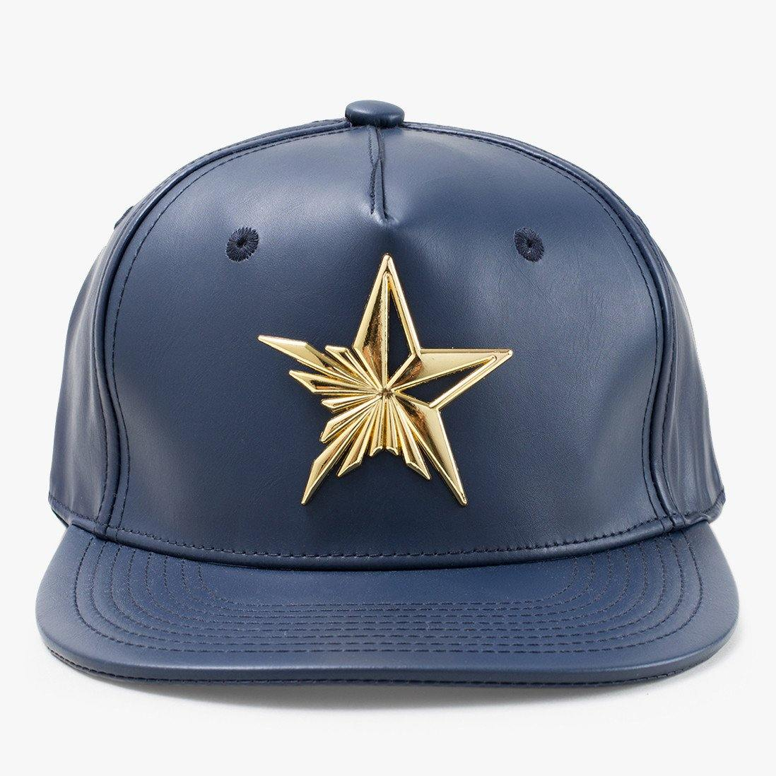 Star Navy Snapback Hat