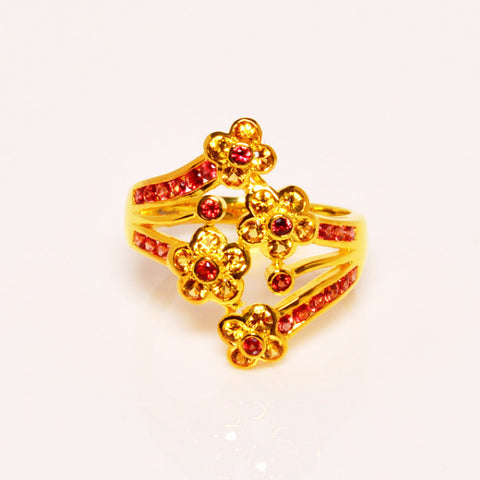 Ruby & Yellow Sapphire Ring