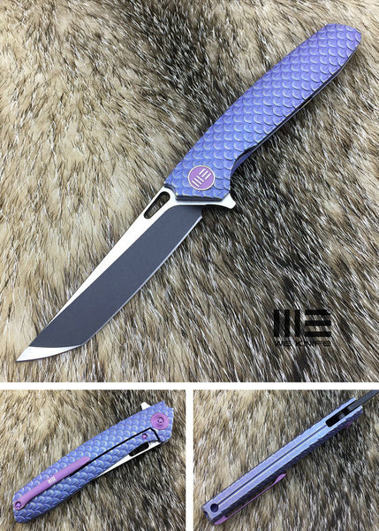 WE Knife 604S S35VN Titanium Frame Lock Flipper