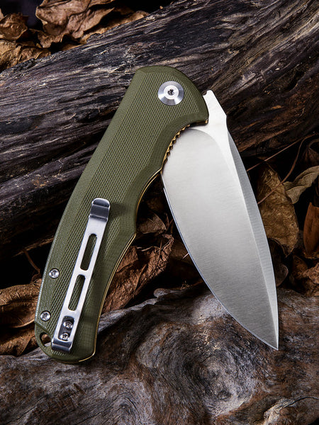 CIVIVI C803A 9Cr18MoV Blade G10 Handle Flipper