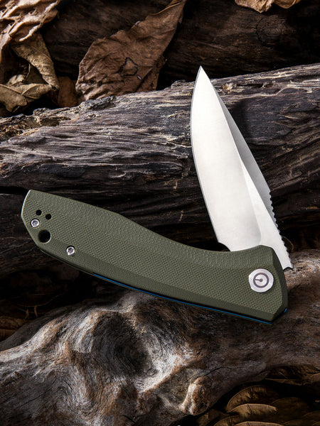 CIVIVI C801A 9Cr18MoV Blade G10 Handle Flipper