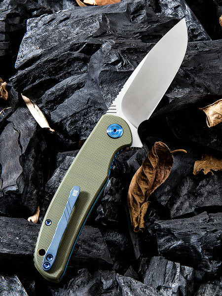 WE Knife 809A M390 Blade G10 Handle Flipper