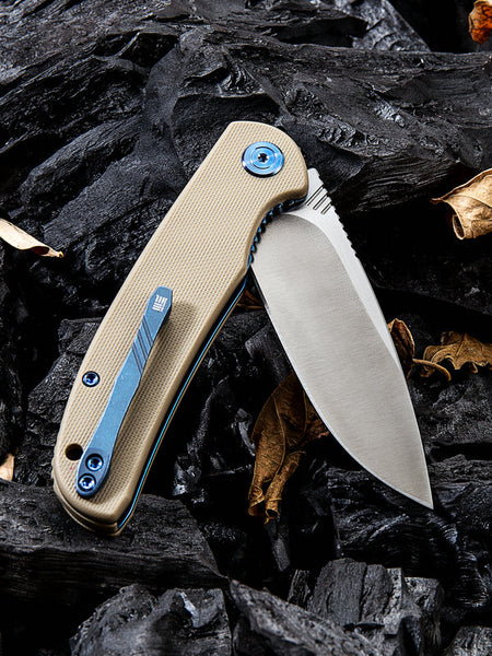 WE Knife 809B M390 Blade G10 Handle Flipper