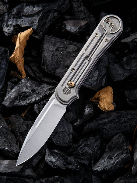 WE Knife 815F S35VN Blade Titanium Handle