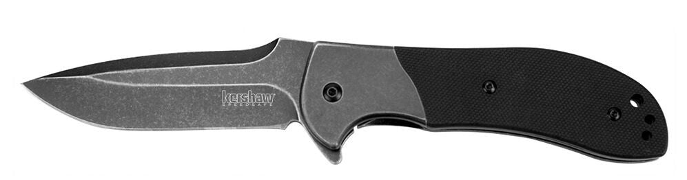Kershaw 3890BW Scrambler 8Cr13MoV Blade Assisted Flipper