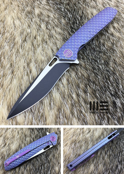 WE Knife 604H S35VN Titanium Frame Lock Flipper