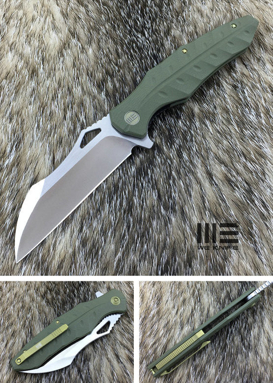 WE Knife 701B D2 Blade G10 Scales Liner Lock Flipper