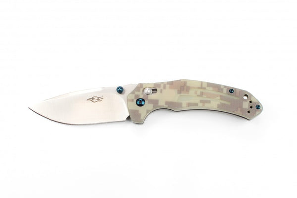 GANZO FIREBIRD F7611-CA 440C Blade G10 Handle Scales