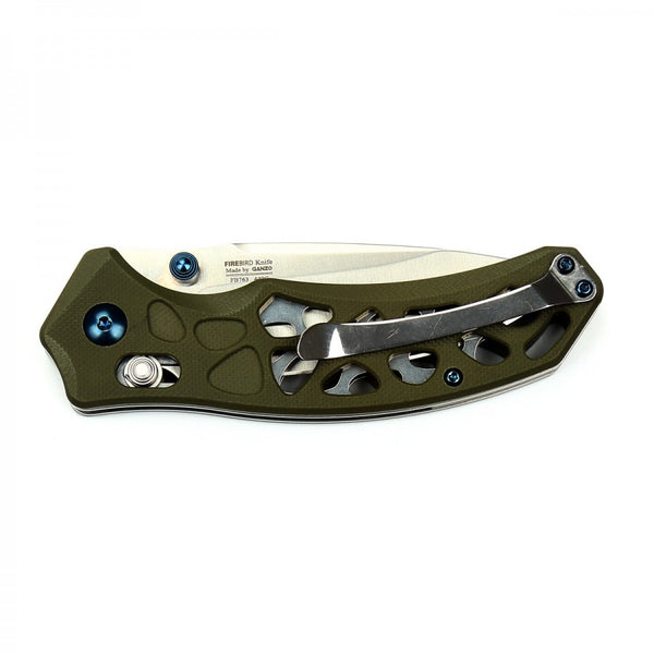 Ganzo Firebird F7631-GR 440C Blade G10 Handle