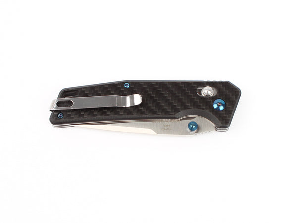 GANZO FIREBIRD FB7601-CF 440C Blade Carbon Fiber Handle Scales