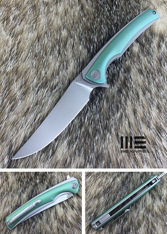 WE Knife 704C Bohler M390 Titanium Frame Lock Flipper