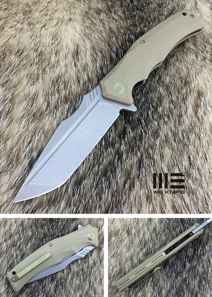 WE Knife 709D D2 Blade G10 Scales Liner Lock Flipper