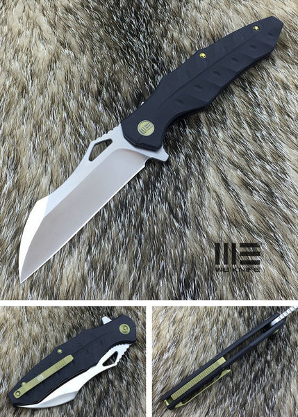 WE Knife 701F D2 Blade G10 Scales Liner Lock Flipper