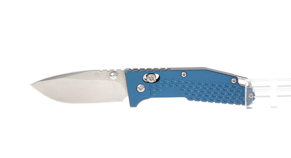 Sanrenmu 7063AUC-LI 8Cr14MoV Blade Stainless Steel Handle Folding Knife