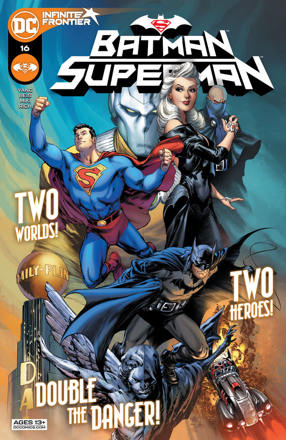 BATMAN SUPERMAN #16 CVR A IVAN REIS & DANNY MIKI SuccessActive