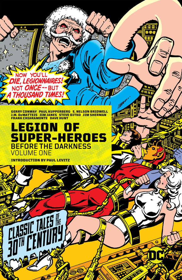 LEGION OF SUPER-HEROES BEFORE THE DARKNESS VOL 01 HC