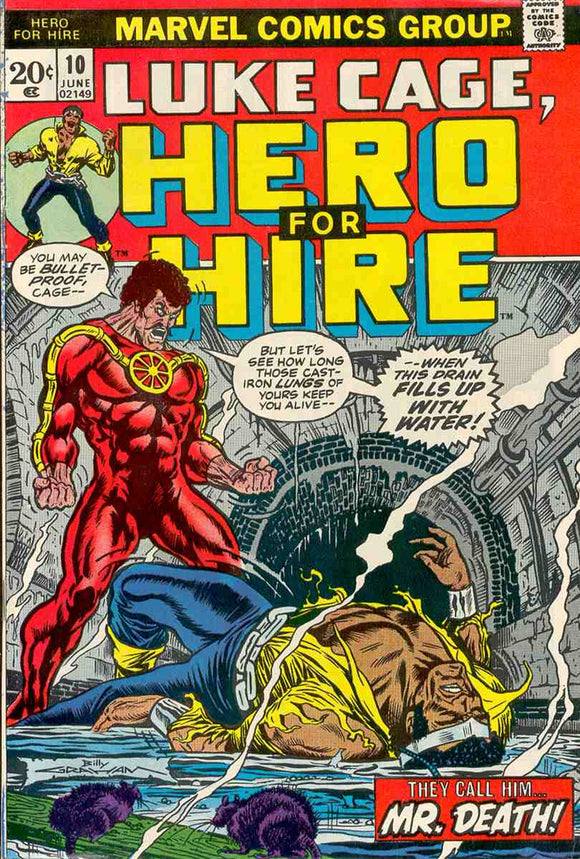 Power Man and Iron Fist 1972 Hero for Hire #10 VG+
