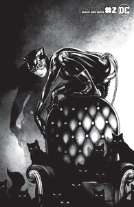 BATMAN BLACK AND WHITE #2 (OF 6) CVR C KAMOME SHIRAHAMA CATWOMAN VAR