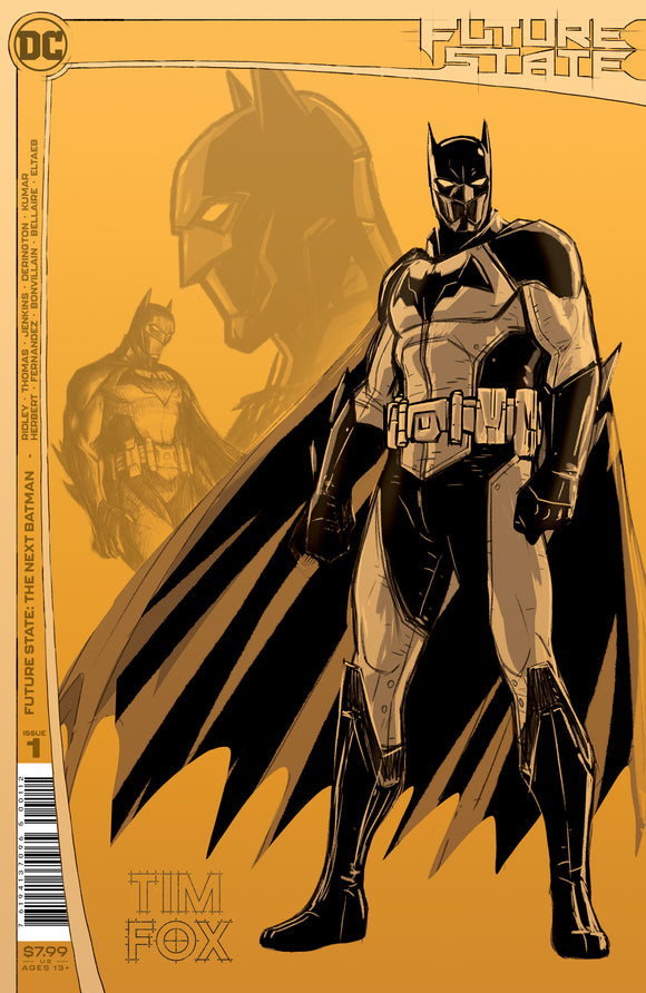 FUTURE STATE THE NEXT BATMAN #1 (OF 4) Second Printing