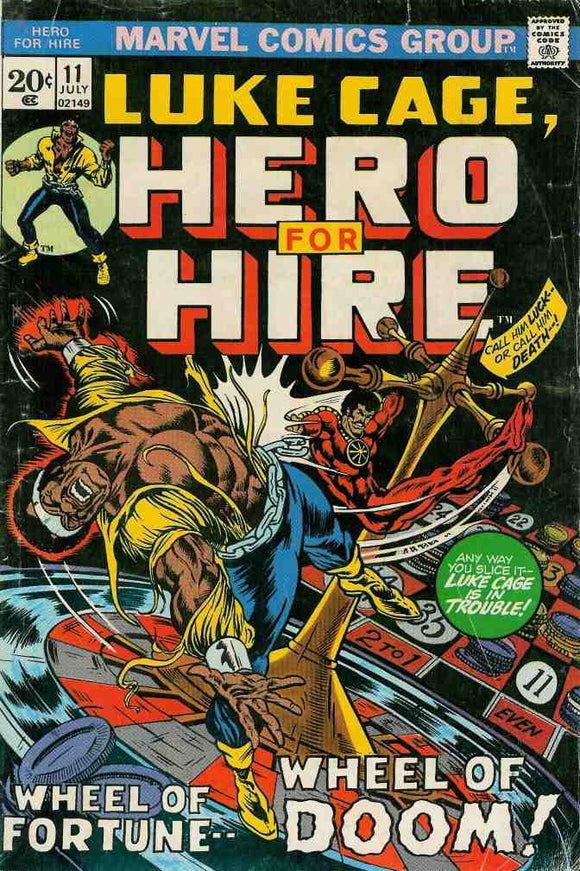 Power Man and Iron Fist 1972 Hero for Hire #11 FN+/FN+