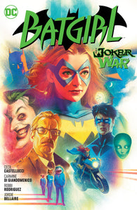 BATGIRL VOL 08 THE JOKER WAR HC
