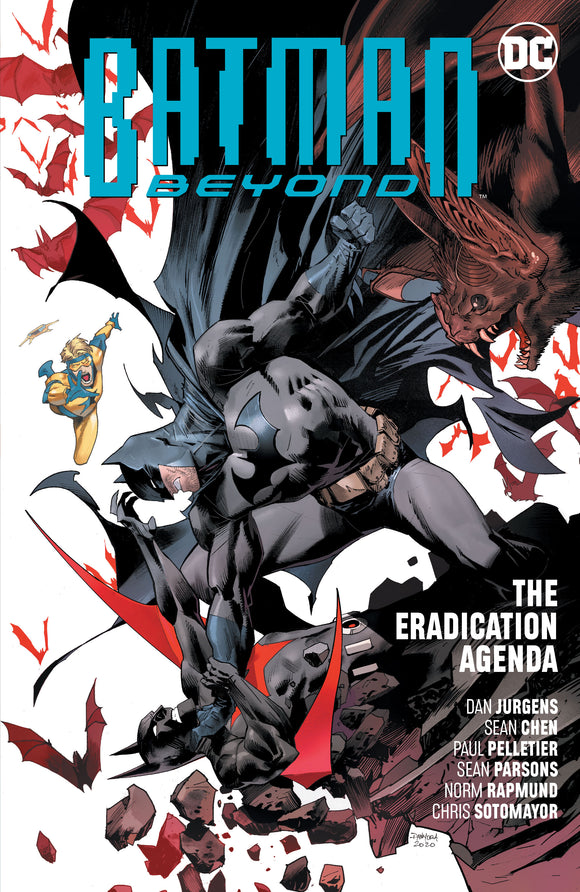 BATMAN BEYOND VOL 08 THE ERADICATION AGENDA TP