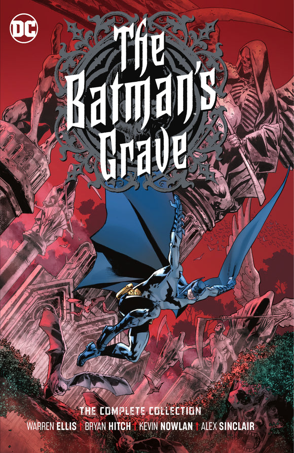 BATMANS GRAVE THE COMPLETE COLLECTION HC