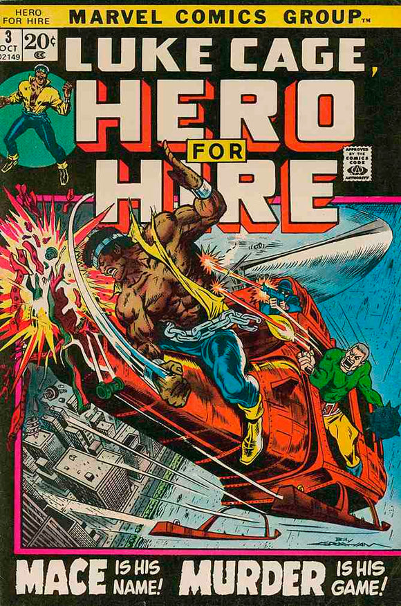 Power Man and Iron Fist 1972 Hero for Hire #3 FN-