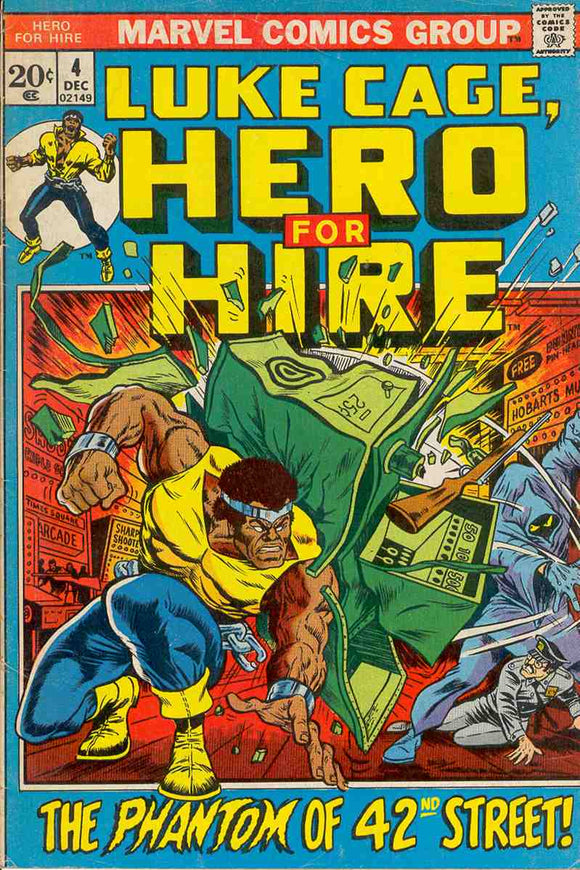 Power Man and Iron Fist 1972 Hero for Hire #4 VG+