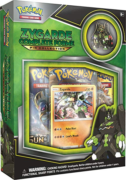 Pokemon TCG; Zygarde Complete Collection Box