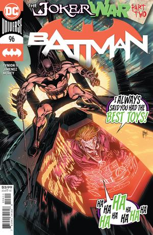BATMAN #96 CVR A GUILLEM MARCH (JOKER WAR)
