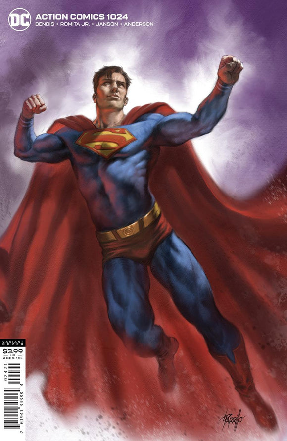 ACTION COMICS #1024 CVR B LUCIO PARRILLO VAR