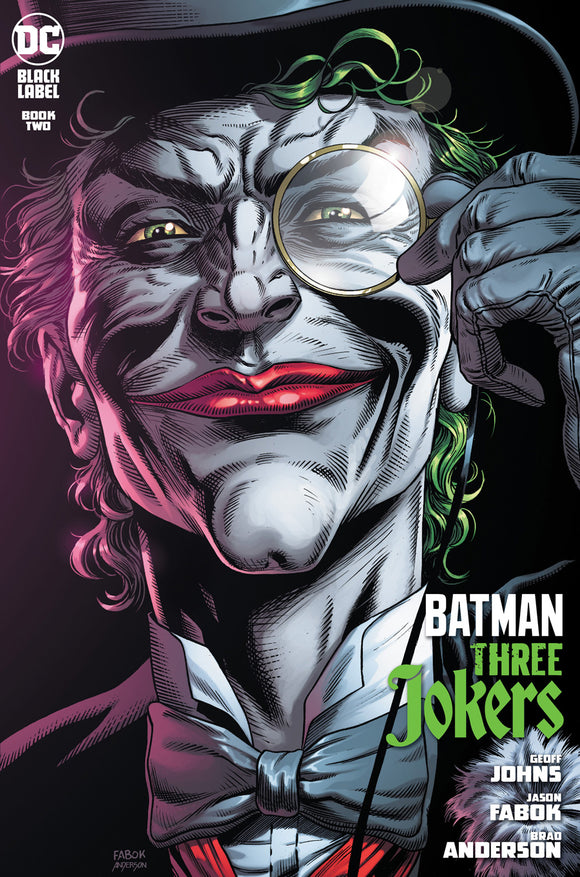 BATMAN THREE JOKERS #2 (OF 3) PREMIUM VAR E DEATH IN THE FAMILY TOP HAT & MONOCLE (MINIMUM ORDER OF 50 COPIES)