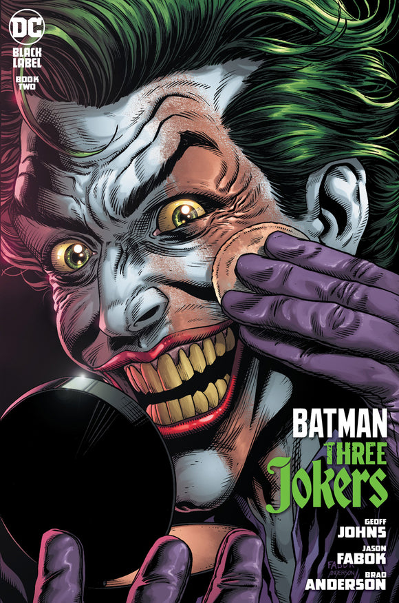 BATMAN THREE JOKERS #2 (OF 3) PREMIUM VAR F APPLYING MAKEUP (MINIMUM ORDER OF 50 COPIES)