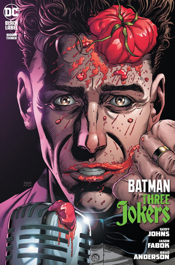 BATMAN THREE JOKERS #3 (OF 3) PREMIUM VAR H STAND-UP COMEDIAN