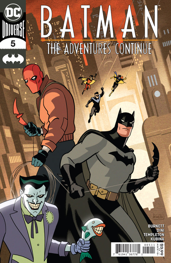 BATMAN THE ADVENTURES CONTINUE #5 (OF 7) CVR A PAOLO RIVERA & JOE RIVERA