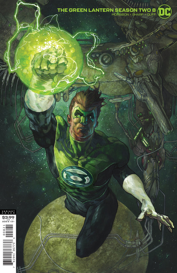 GREEN LANTERN SEASON TWO #8 (OF 12) CVR B SIMONE BIANCHI VAR