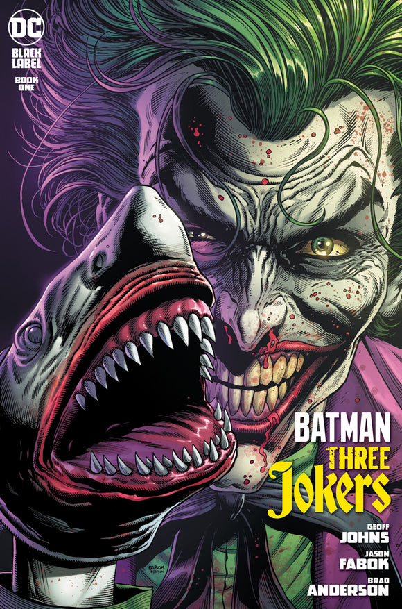 BATMAN THREE JOKERS #1 (OF 3) 2ND PTG CVR A JOKER SHARK VAR