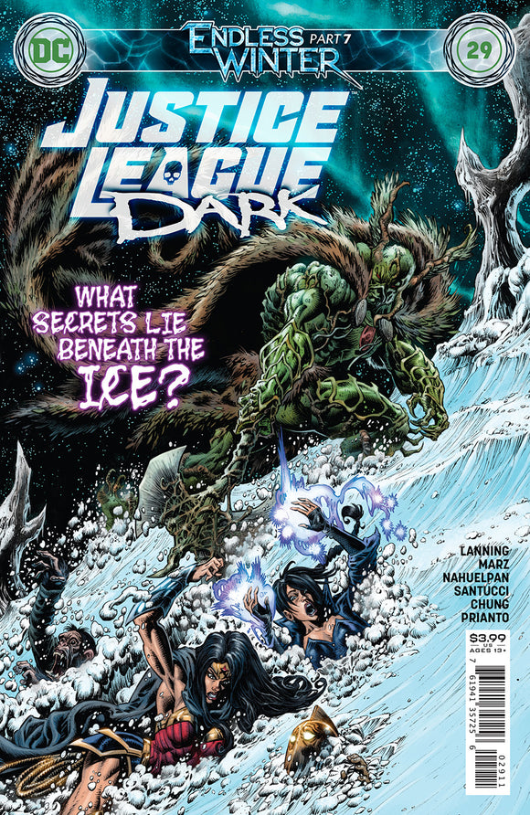 JUSTICE LEAGUE DARK #29 CVR A KYLE HOTZ (ENDLESS WINTER)