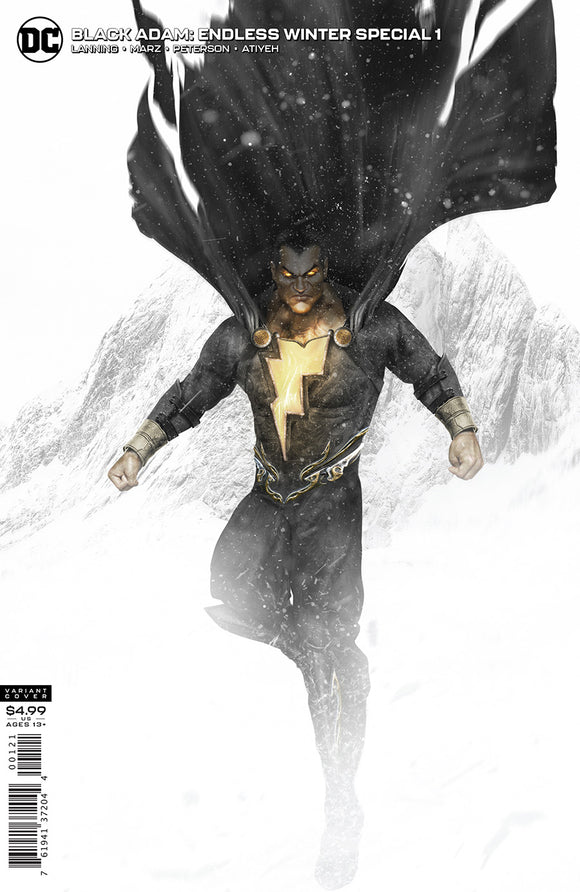 BLACK ADAM ENDLESS WINTER SPECIAL #1 (ONE SHOT) CVR B BOSSLOGIC CARD STOCK VAR (ENDLESS WINTER)