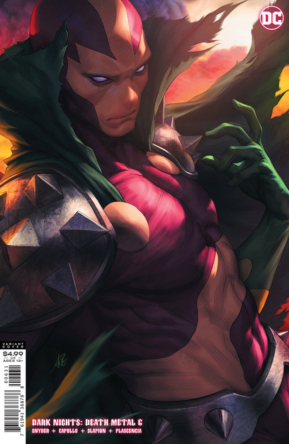 DARK NIGHTS DEATH METAL #6 (OF 7) CVR C STANLEY ARTGERM LAU MISTER MIRACLE VAR